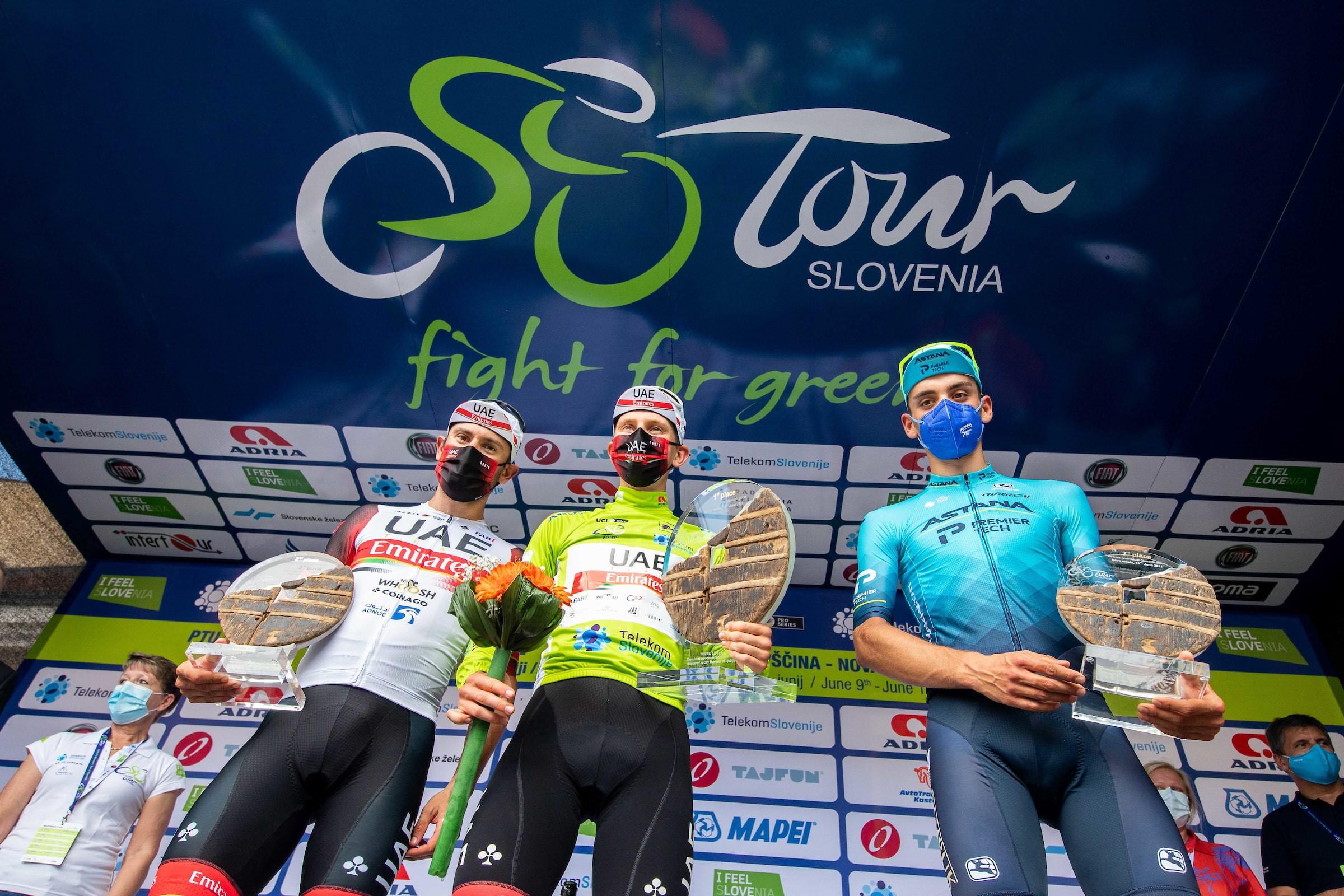 Tadej Pogačar je zmagovalec 27. dirke Po Sloveniji