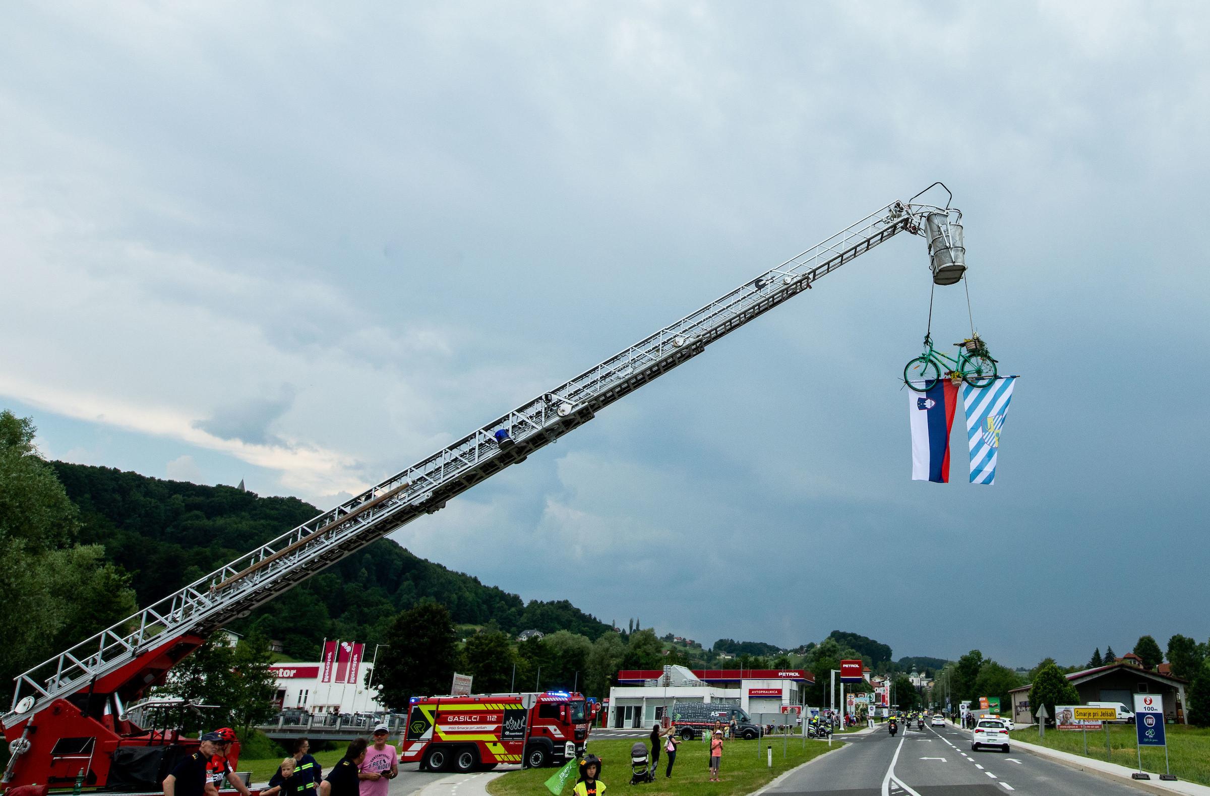 Zahvala gasilcem in ostalim prostovoljcem
