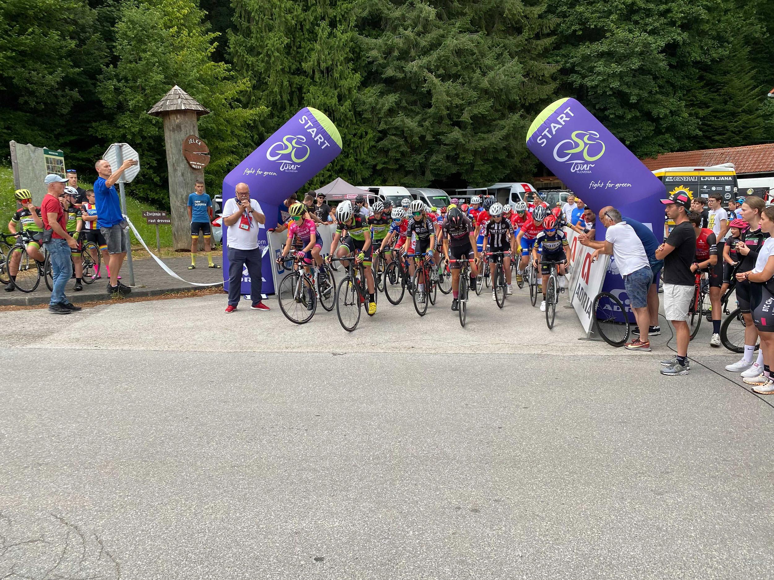 Kids Tour of Slovenia - 1. etapa